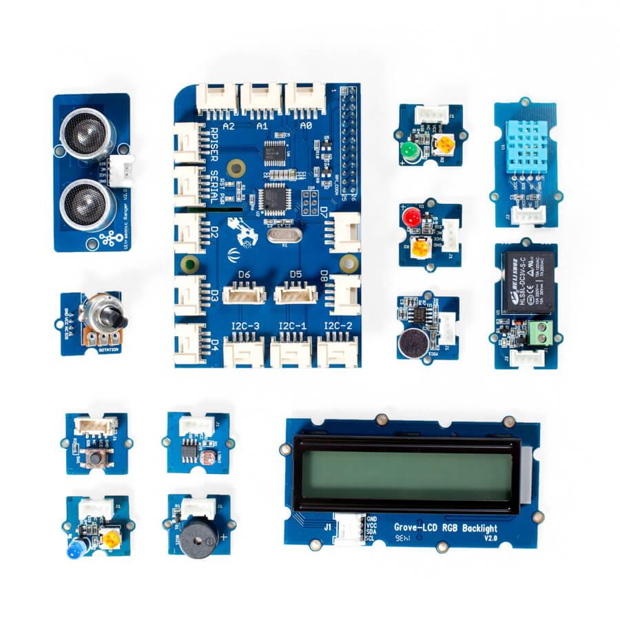 Carte Grove Pi + avec 15 capteurs